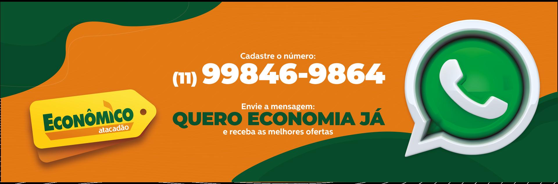 Cadastre-se no WhatsApp do Econômico Guarulhos