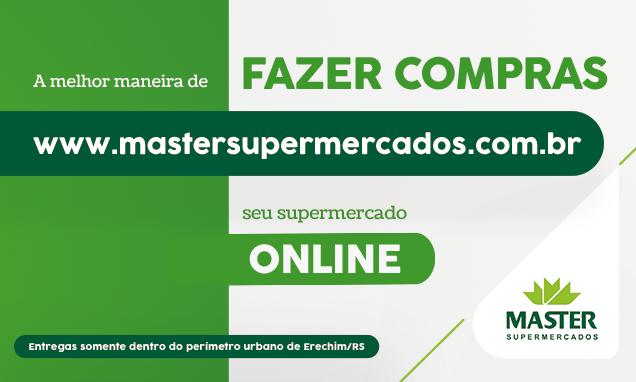 Loja Virtual Master Supermercados