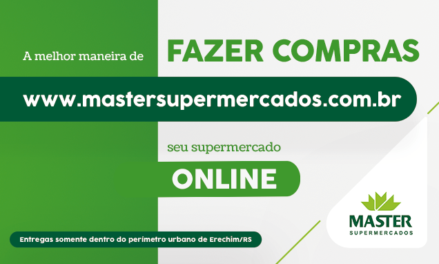 Loja Virtual Master Supermercados Erechim