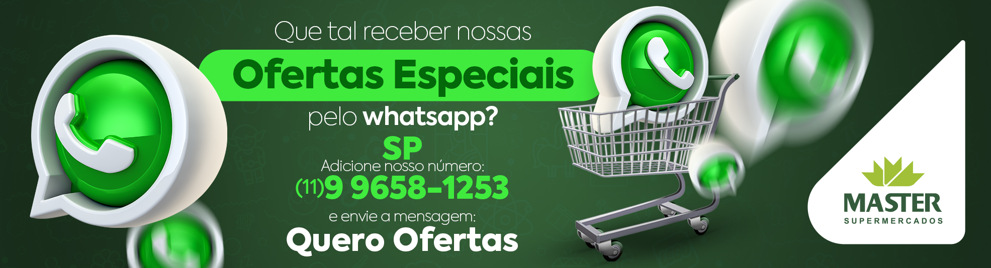 Campanha whats Master SP